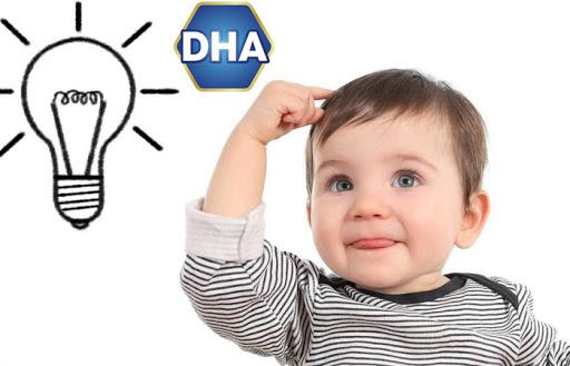 DHA và sự phát triển giai đoạn vàng của trẻ