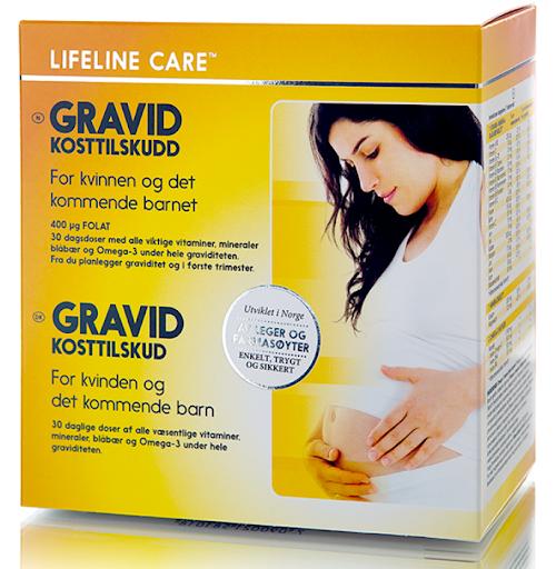 Lifeline Gravid - Bổ sung dinh dưỡng cho thai kỳ